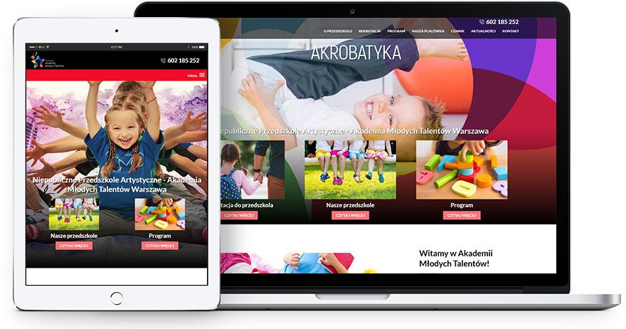 strona www przedszkole